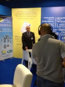 Intervista TV al Presidente A. Malvestuto, che illustra i vantaggi del progetto.